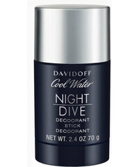 Davidoff Cool Water Night Dive - tuhý deodorant