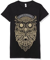 Asking Alexandria Damen T-Shirt Owl