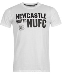 Tričko NUFC Graphic pán. bílá