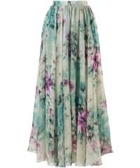 CHICWISH Dámská sukně Maxi Květinový sen