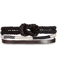 Hipanema Bracelets Bracelet brésilien noir Oscar Black