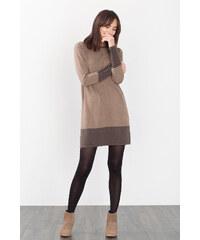 Esprit Robe-pull bicolore, 100 % coton