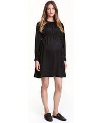 H&M MAMA Saténové šaty