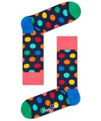 Happy Socks puntíkované pánské ponožky Big Dot