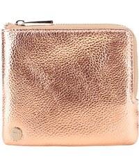 Lesklá peněženka v růžovozlaté barvě Mi-Pac Coin Holder