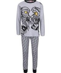 Šedé klučičí pyžamo s potiskem LEGO Wear Nicolai