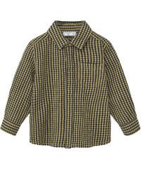 MANGO BABY Chemise Coton À Carreaux Texturée
