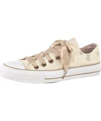 Sneaker obuv Krüger béžová/květinov