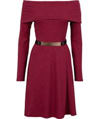 BODYFLIRT boutique Trägerloses Kleid in rot von bonprix
