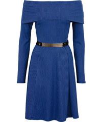 BODYFLIRT boutique Trägerloses Kleid in blau von bonprix