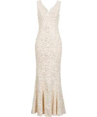 BODYFLIRT boutique Abendkleid in beige von bonprix