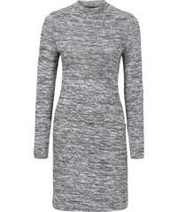 BODYFLIRT Meliertes Jersey-Kleid in grau von bonprix