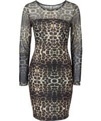 BODYFLIRT boutique Abendkleid in braun von bonprix
