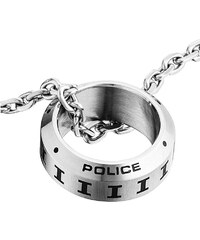 Police Pánský náhrdelník s prstenem Digital PJ25139PSS/01