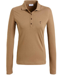 Golfino Damen Golf Poloshirt The Brushed Sun Protection Langarm