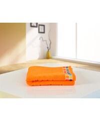 B.E.S. Petrovice BES Petrovice ručník froté 50x90 Color Mozaik Oranžový