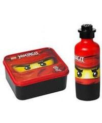 LEGO® Storage Ninjago Svačinový set - červený
