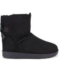 Boots fourrées noires UTAO - Cendriyon