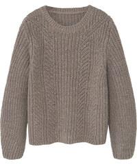 MANGO KIDS Pullover Aus Wolle-Baumwoll-Mix.