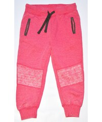 Minoti Dívčí tepláky Glow 6 - růžové