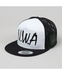 Yupoong N.W.A. Trucker Cap černá / bílá