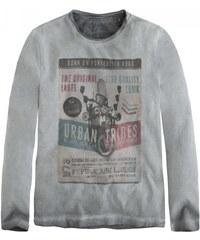 Pepe jeans T-shirt enfant - T.shirt manches longues gris stoné ado garçon