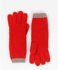 Baby Boden Handschuhe in Blockfarben Rot Damen Boden