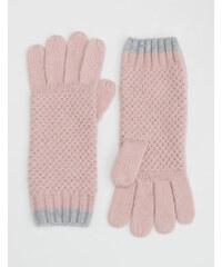 Baby Boden Handschuhe in Blockfarben Pink Damen Boden