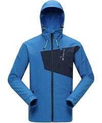 Alpine Pro BRENNIB 2 Modrá/Tyrkysově modrá Pánská Bunda