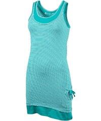 Alpine Pro CHENOA Zelená/Tyrkysově zelená Dámská Šaty, sukně