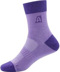Alpine Pro RAPID Růžová/Fialová Dětské ponožky