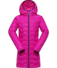 Alpine Pro ADRIANNO Růžová/Fialová Dětský Kabát