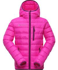 ALPINE PRO Dívčí prošívaná bunda Bartollo - růžová