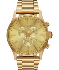 Hodinky Nixon Sentry Chrono All Gold