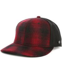 STETSON Rot-schwarz karierte Mütze California