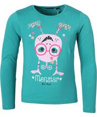 BLUE SEVEN Bavlněné dívčí tričko 'Monster'