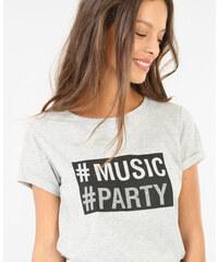 Pimkie T-Shirt mit Schriftzug