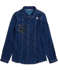 Guess Kids Chemisier - bleu