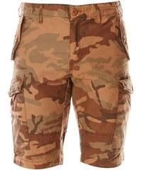Schott Cargo-Shorts - tarnfarben