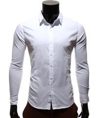 Re-Verse Unifarbenes Businesshemd - Weiß - S