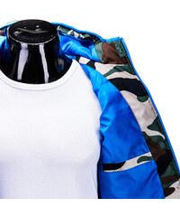 Lesara Wattierte Steppweste im Camouflagedesign - Grün - M