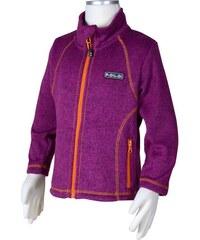 Bugga Dívčí mikina ze svetrového úpletu - fialová