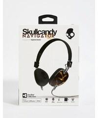 Skull Candy Navigator - Casque supra-auriculaire avec micro - Marron