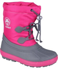 Coqui Fuchsiové dětské zimní boty Bergy 1350032 Fuchsia