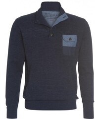 COOL CODE Herren Strickpullover blau aus Baumwolle