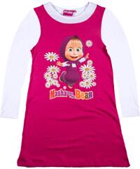 Mascha und der Bär Nachthemd pink in Größe 104 für Mädchen aus 100% Baumwolle