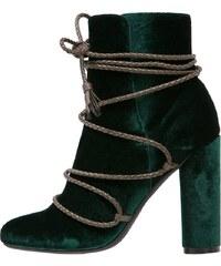 Missguided High Heel Stiefelette green