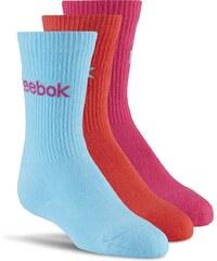 Dětské ponožky Reebok Kids Boys Crew Socks 3 For 2