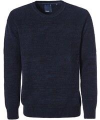 Pioneer Authentic Jeans Strickpullover blau