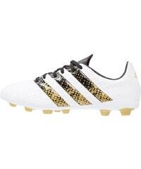 adidas Performance ACE 16.4 FXG Fußballschuh Nocken white/core black/gold metallic